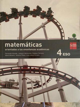 Matematicas 4 eso SM