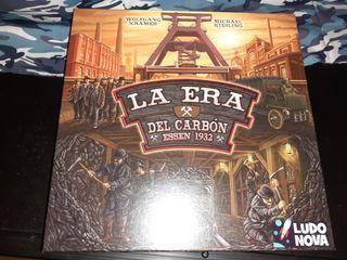 La era del carbon, juego de mesa