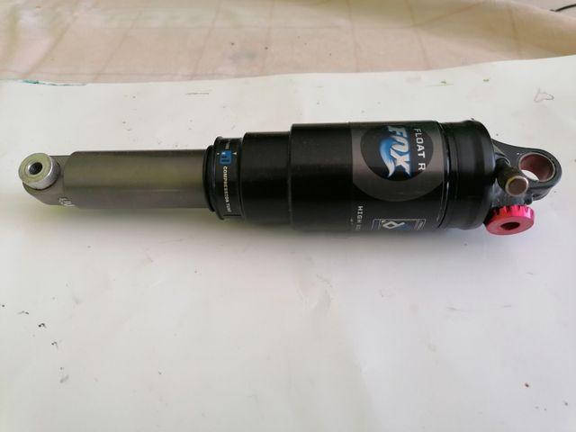 amortiguador fox 160 mm