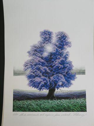 Cuadro Ramcé, litografia, 33x48cm