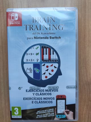 Brain Training Switch Precintado