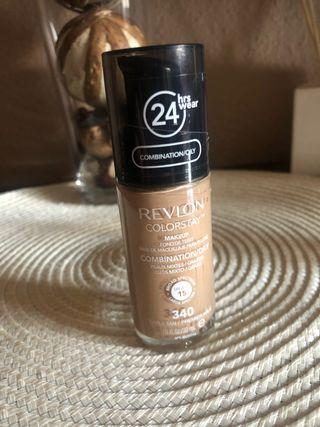 Base maquillaje Revlon piel mixta o grasa