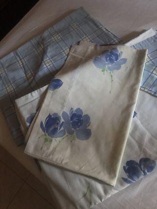 Dos fundas nórdicas para camas de 90