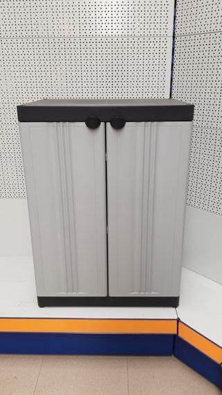 Armario bajo dos puertas plastiken