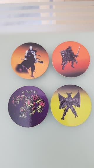 Tazos Space Kombat