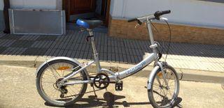 se vende bici plegable