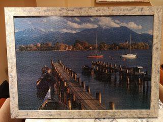 Puzzle 1500 piezas con marco madera