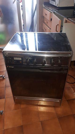 cocina gas y horno electrico