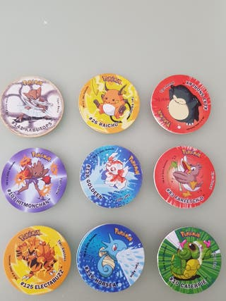 Pokemon tazos attack
