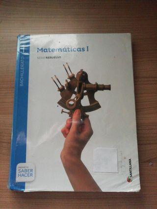 Libro matemáticas 1°Bach
