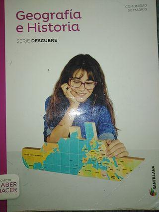 libro geografía e historia de 3 de eso