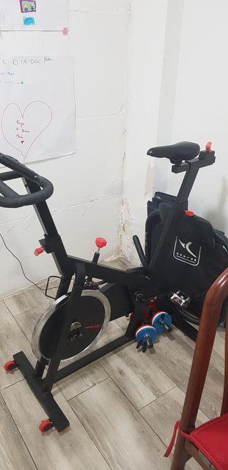 bicicleta spinning DOMYOS BIKING 100