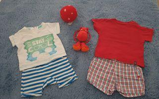 Ropa bebé y juguetes