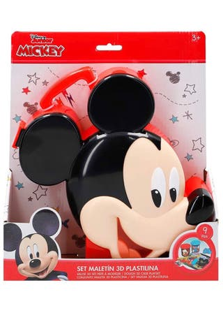 Set maletín plastilina Mickey