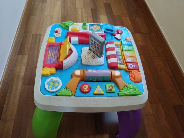 mesa de actividades