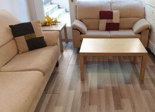 Conjunto de dos elegantes sofas de diseño