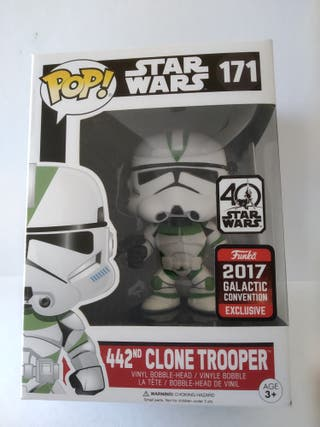 Funko POP Star Wars - 171 Clone Trooper exclusivo.