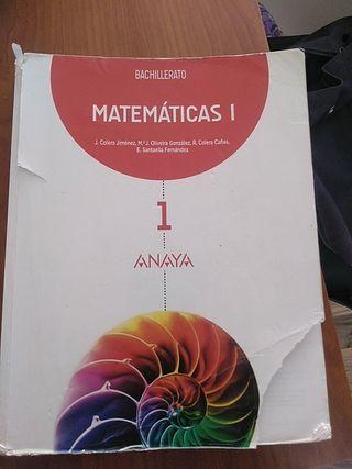 matemáticas 1º de bachillerato