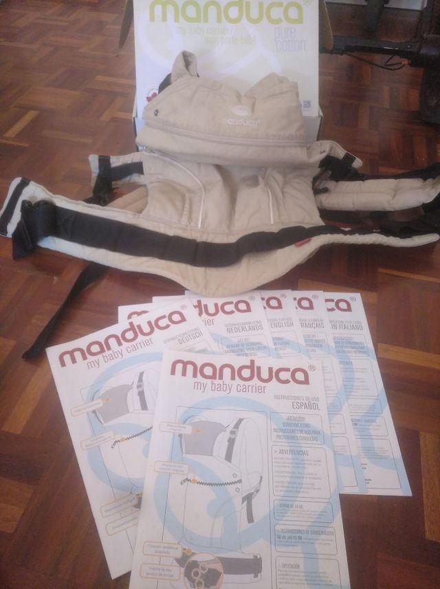 Mochila porta bebe Manduca