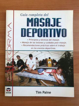 Libro de Masaje deportivo