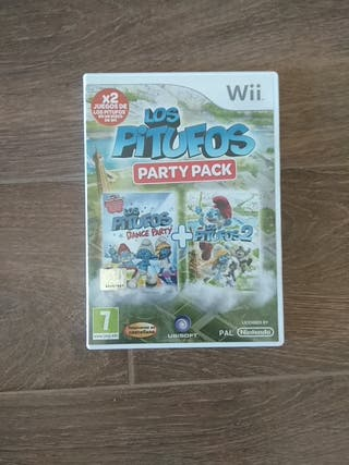 Los Pitufos Party Pack wii