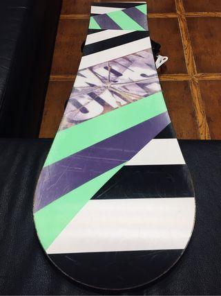 Tabla snowboard salomon 156