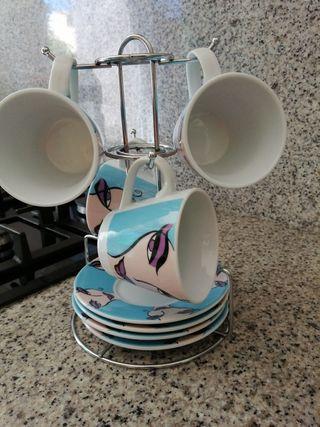 Juego de café con leche