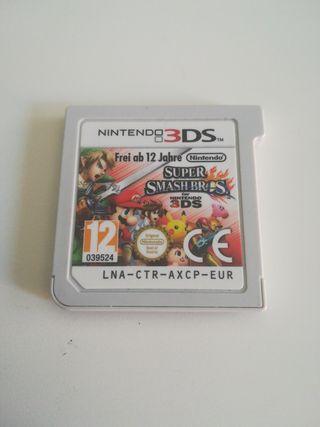 Juego Super Smash Bros para Nintendo 2ds y 3ds
