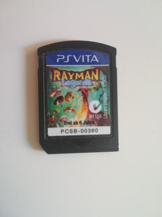 Juego Rayman Legends para PsVita
