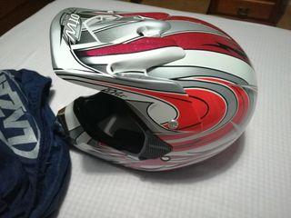 Casco de moto cross enduro