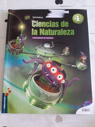 libro naturales edelvives 4°