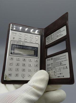 Calculadora Casio Card Watch micro MQ11