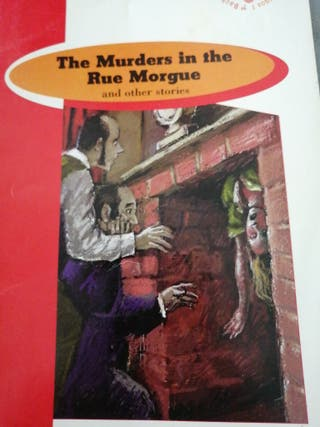 Libro lectura: The murders in the rue morgue.