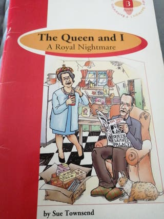 libro lectura: The queen and I