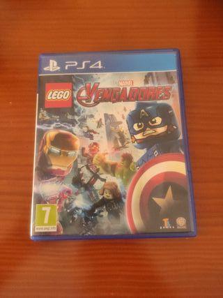 LEGO Vengadores PS4