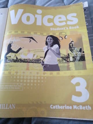 voices student's book. 3 eso