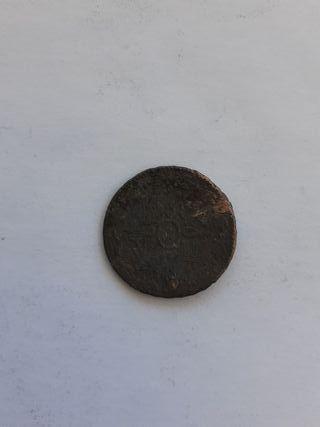 Moneda Maravedi Isabel ll