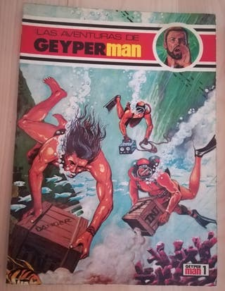 Comics de las aventuras de Geyperman