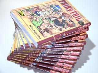 Fairy Tail 1-11 Manga