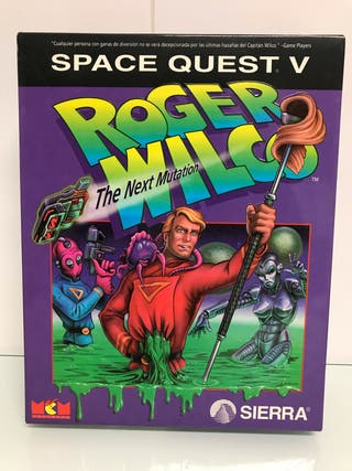 "Space Quest V (PC 3,5"") Sierra Online"