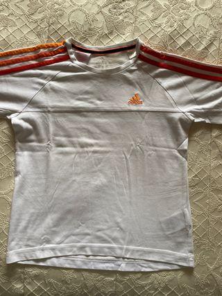 Camiseta adidas talla 11-12 años