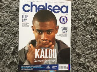 CHELSEA FC OFFICIAL MAGAZINE - FEBRUARY 2011