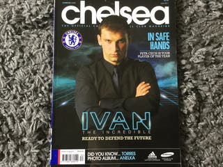 CHELSEA FC OFFICIAL MAGAZINE - July 2011