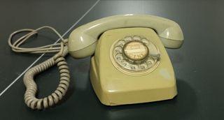 TELEFONO ANTIGUO DISCO VINTAGE