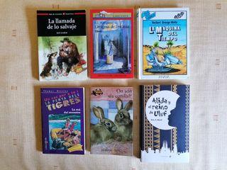 6 libros de narrativa juvenil