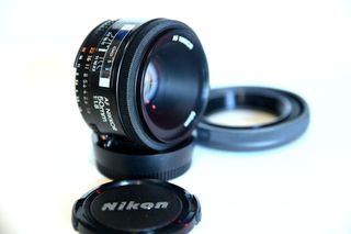 Objetivo Nikon 50 1.8