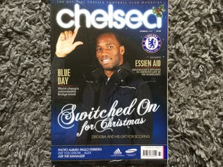CHELSEA FC OFFICIAL MAGAZINE - January 2011