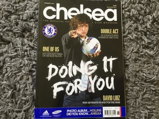 CHELSEA FC OFFICIAL MAGAZINE - December 2011