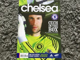 CHELSEA FC OFFICIAL MAGAZINE - May 2011