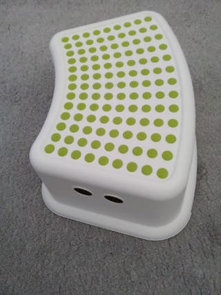 White and Green children's stool